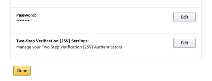 Click on 2 Step Verification