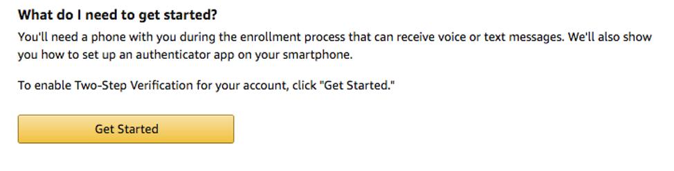 Select Get Started Details