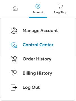 Select 'Control Center'