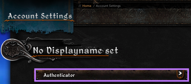 Click on Authenticator