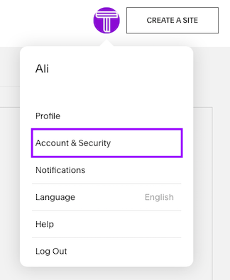 Account & Security