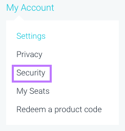 Access Account Security