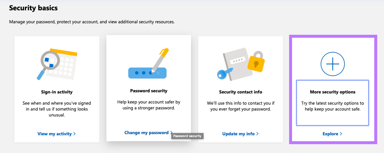 More Security Features